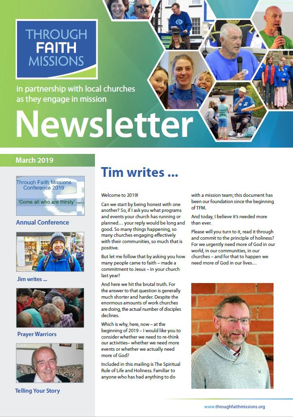 front cover mar 19 newsletter